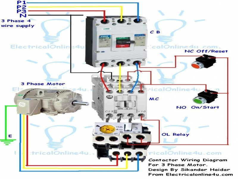 diagrams7991114-contactor-wiring-diagram-contactor-wiring  Phase Motor Wiring Diagrams Simple Circuit Diagram Of Contactor on
