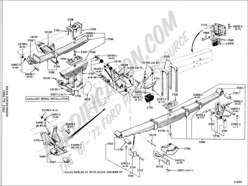 Ford Truck Technical Drawings And Schematics Section A Front on 95 Dodge Dakota Wiring Diagram
